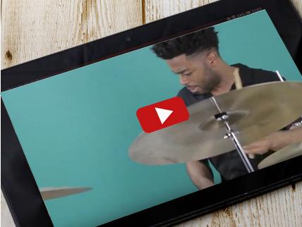 ドラムのオンライン動画レッスン