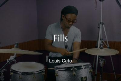 Louis Cato ドラムレッスン動画