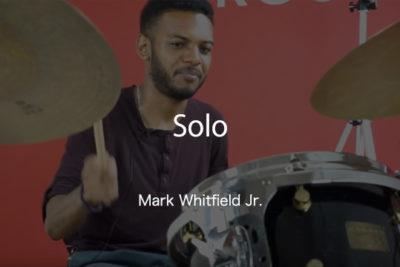 ark Whitfield Jr. ドラムレッスン動画